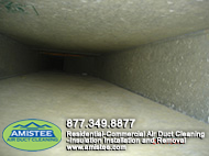 cleaning cold and heat air ducts