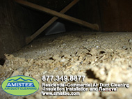 drywall dust, construction debris and other pollutants in ducts