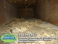 before furnaces & ducts & dryer vent cleaning