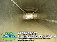 before duct cleaning service