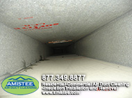 after Ac duct service