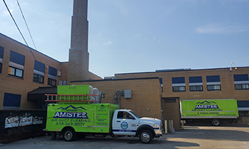 amistee duct cleaning commercial building