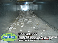 dust in the air duct