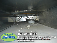 picture before the duct cleaning