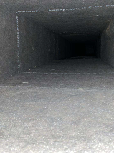 Restored Air Duct