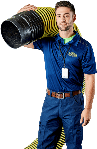 Large Spiral Pipe for Duct Cleaning